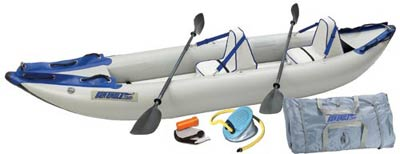 Sea Eagle 380x Explorer 14 Ft Inflatable Kayak Pro Carbon Package