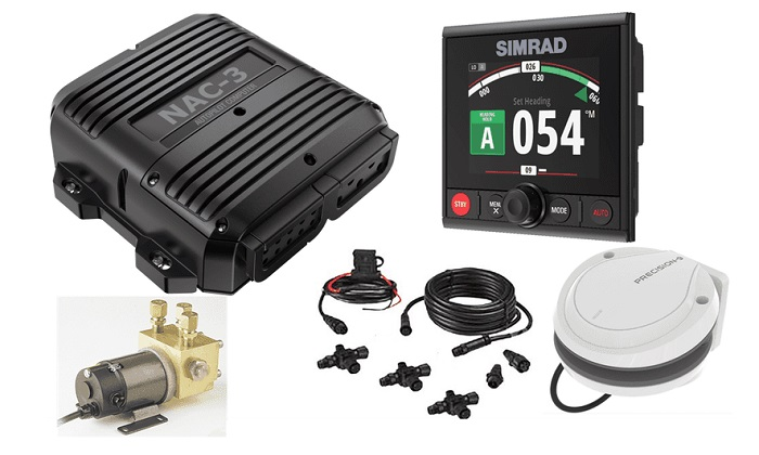 Simrad Ap44h Vrf Autopilot High Capacity Kit Simrad 000