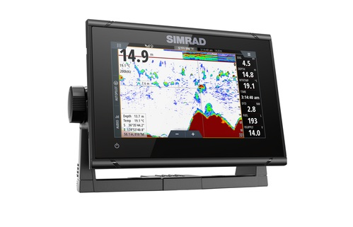 Simrad Go7 Xsr 7 Multifunction Display Totalscan Transducer Navionics Usa