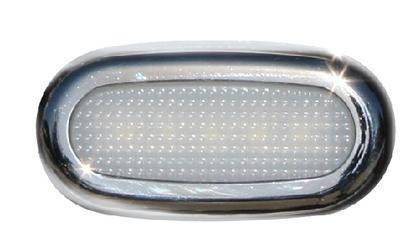 *164127 LED LIVEWELL//GUNWALE LIGHT 2-Pack White LIMA-16  by Aqua Signal
