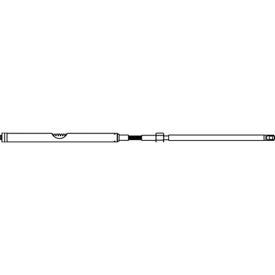 Teleflex SSC12416 Steering Rack And Cable Assembly by 16/'