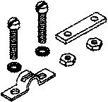 teleflex ca28020p 3300 cable clamp and shim teleflex. Black Bedroom Furniture Sets. Home Design Ideas
