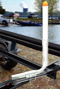 Boat Trailer Guides >> Tie Down 86468 High Impact Float Pontoon Trailer Guide On ...