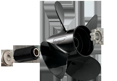 "JOHNSON EVINRUDE 14 X 19 LH Propeller Boat Prop 90-300HP 4 3//4/"" Gearcase 4 Blade"