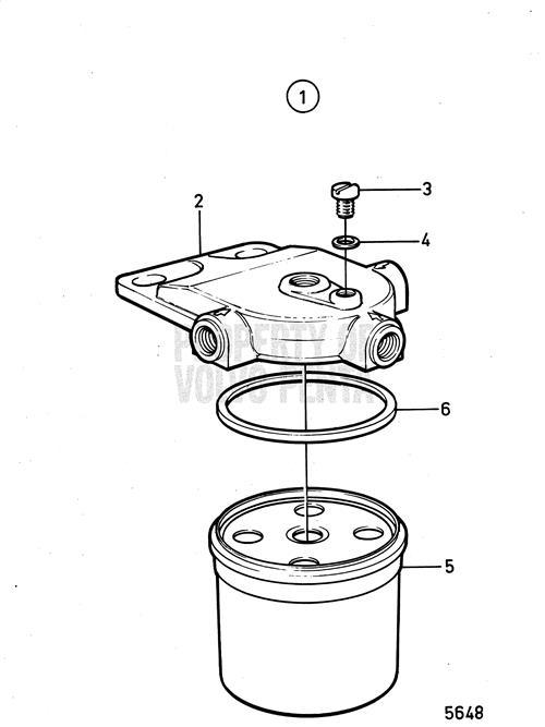 volvo penta 840531 fuel filter kit - volvo penta 840531 - volvo penta fuel filters