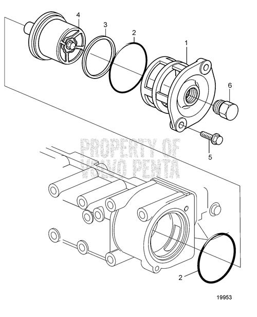 Buy Thermostat Housing Assembly Ac Delco Acemx00014 Shop Every